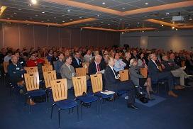 Publik in de zaal van het GTL-congres