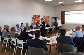 René de Koster presenteert het onderzoek van Christian Kaps