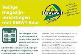 Folder Veilige magazijninrichtingen met BMWT-Keur