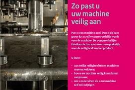 Kaft brochure Inspectie SZW 'Zo past u uw machine veilig aan'
