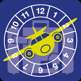 BMWT sticket met vliegtuig veilig op vakantie