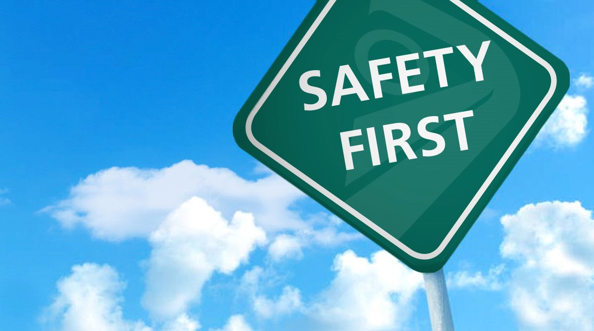 Safety first - veiligheid