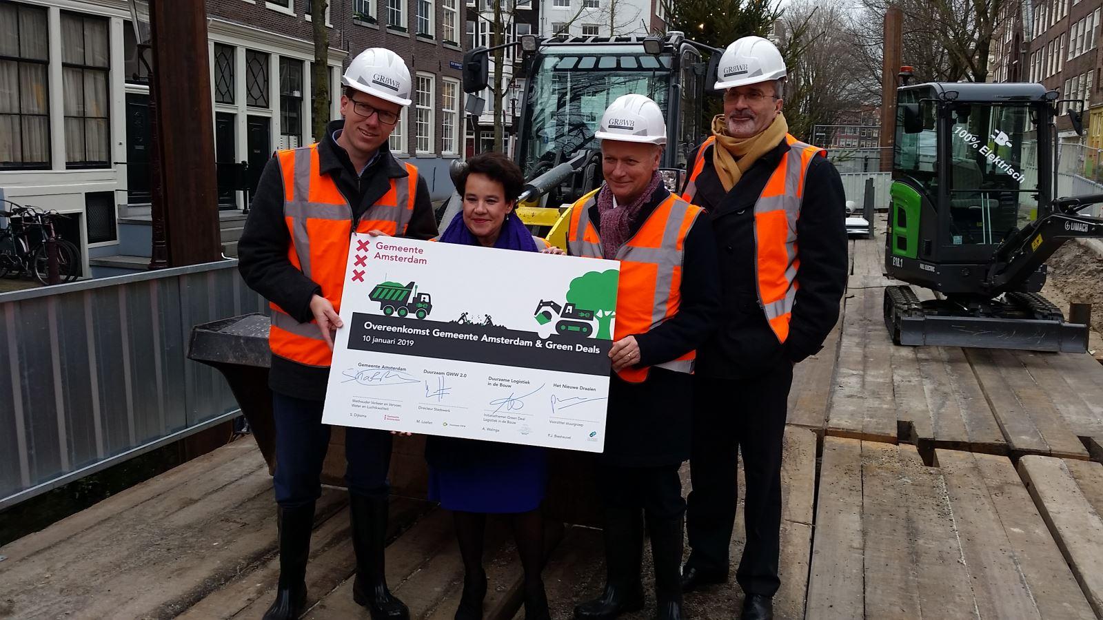 ondertekening Green Deal Het Nieuwe Draaien Amsterdam