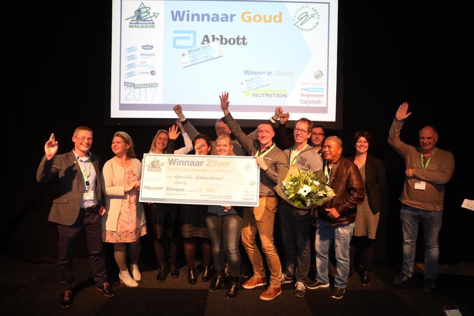 goud winnaar Prijs Veiligste Magazijn
