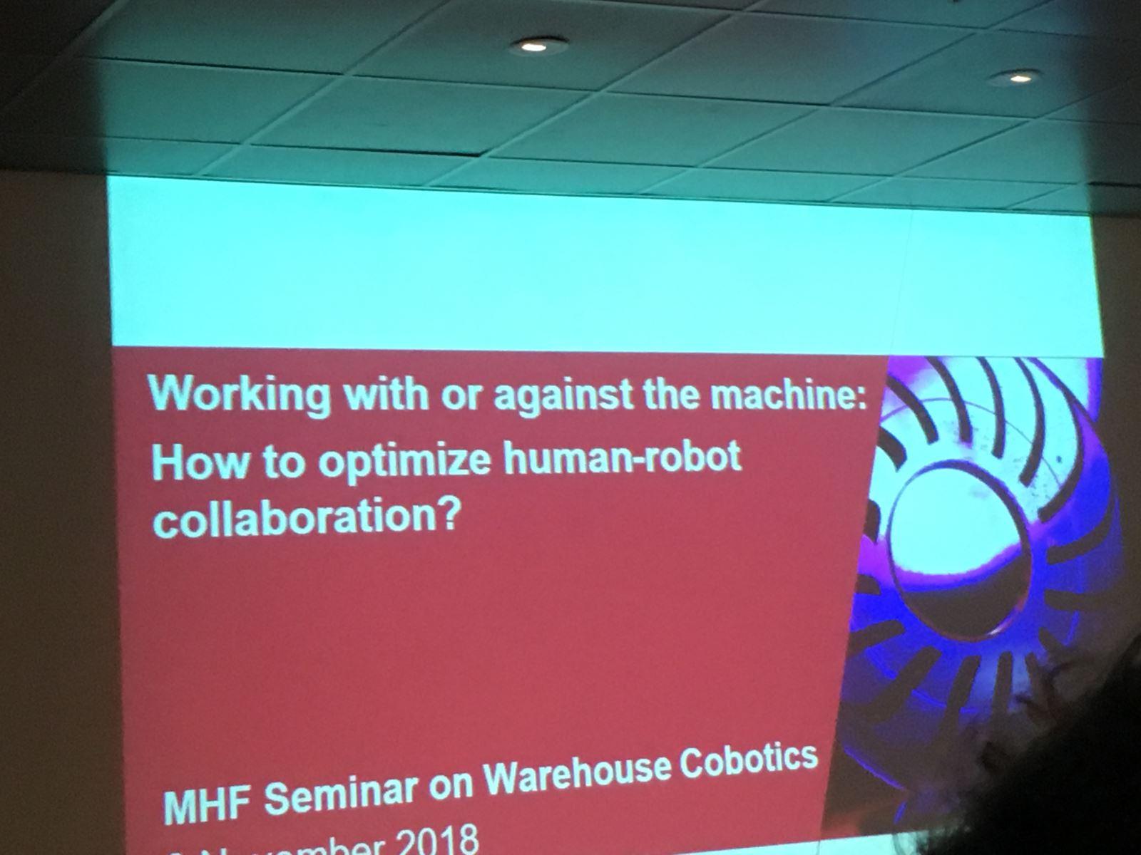 seminar warehouse robotics 8 november