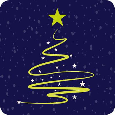 Kerstboom van de BMWT