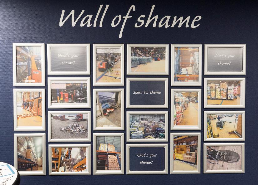 Wall of shame Albert Heijn