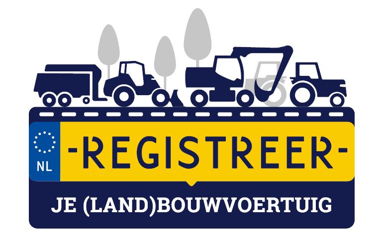 Registreer de landbouwvoertuig