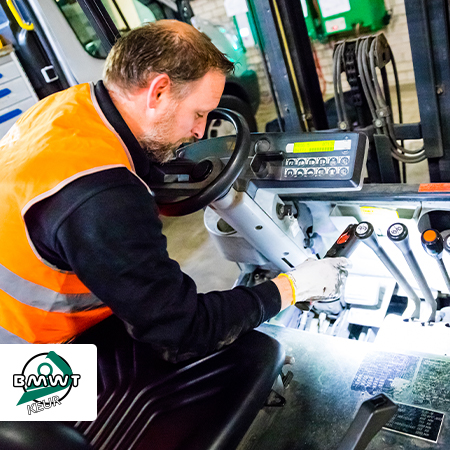 Servicemonteurs zorgen voor continuïteit veiligheidskeuringen intern transport corona BMWT keur